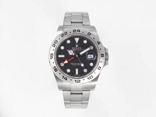 高仿复刻N厂-Rolex- 劳力士-探险家型系列216570-77210 黑盘腕表
