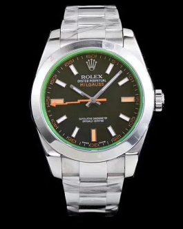 高仿复刻AR厂-Rolex- 劳力士格磁型系列m116400gv-0001黑盘腕表(绿玻璃)