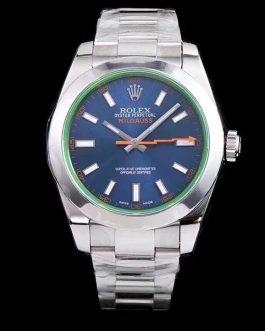 高仿复刻AR厂-Rolex- 劳力士格磁型系列m116400gv-0002蓝盘腕表