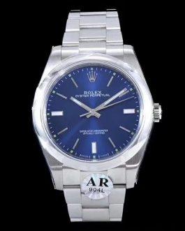 高仿复刻AR厂-Rolex- 劳力士- 蚝式恒动114300系列(蓝面)