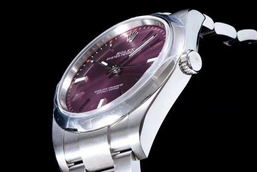 高仿复刻AR厂-Rolex- 劳力士- 蚝式恒动114300系列(紫色面)