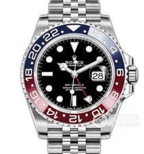 高仿复刻N厂-Rolex- 劳力士-格林尼治型II系列126710BLRO-0001腕表(可乐圈)