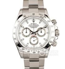 高仿复刻N厂-Rolex- 劳力士-宇宙计型迪通拿系列116520-78590 白盘腕表(白钢迪)
