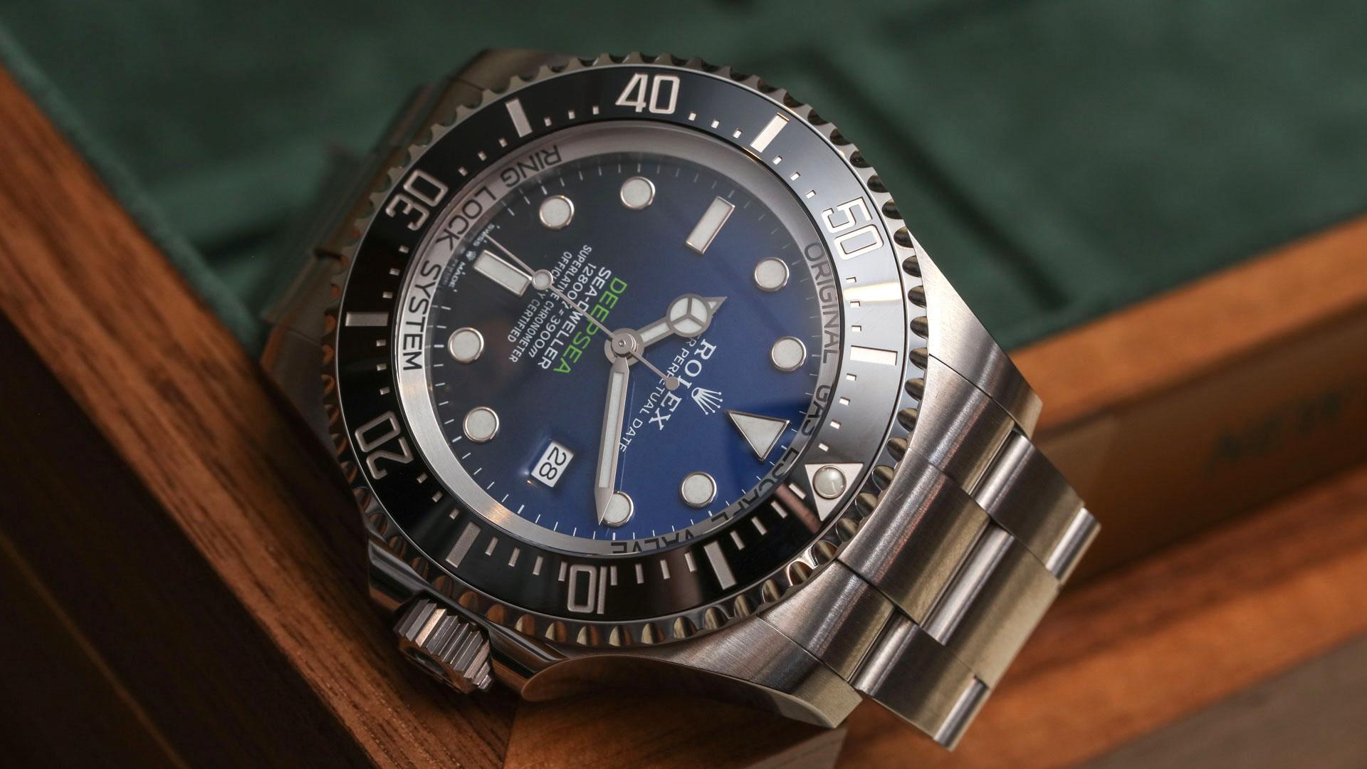 [劳力士水鬼王]Deep Sea Blue 126660评测